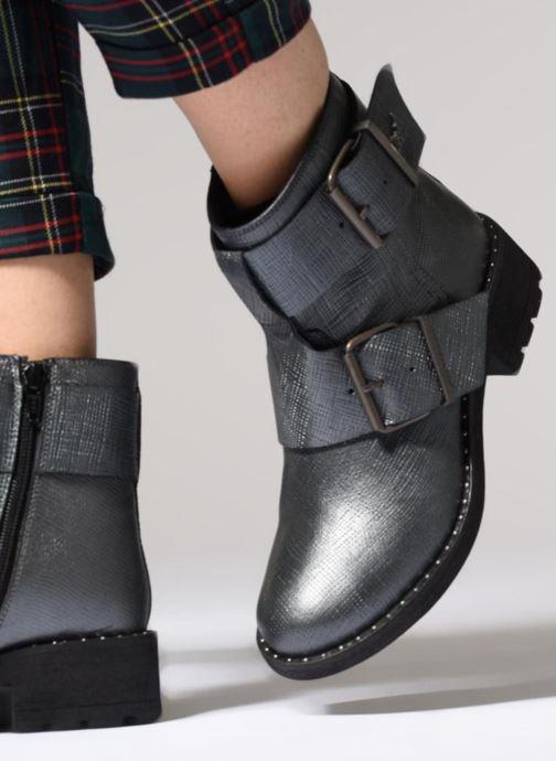 Bottines et boots Kaporal Londres Gris vue bas / vue portée sac