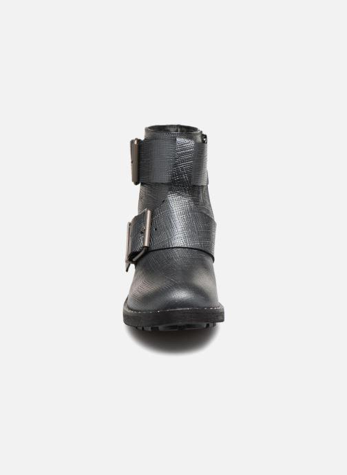 Bottines et boots Kaporal Londres Gris vue portées chaussures