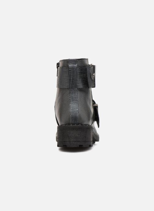 Bottines et boots Kaporal Londres Gris vue droite