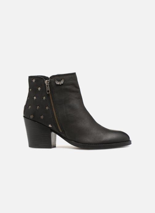 Bottines et boots Kaporal Licorne Noir vue derrière