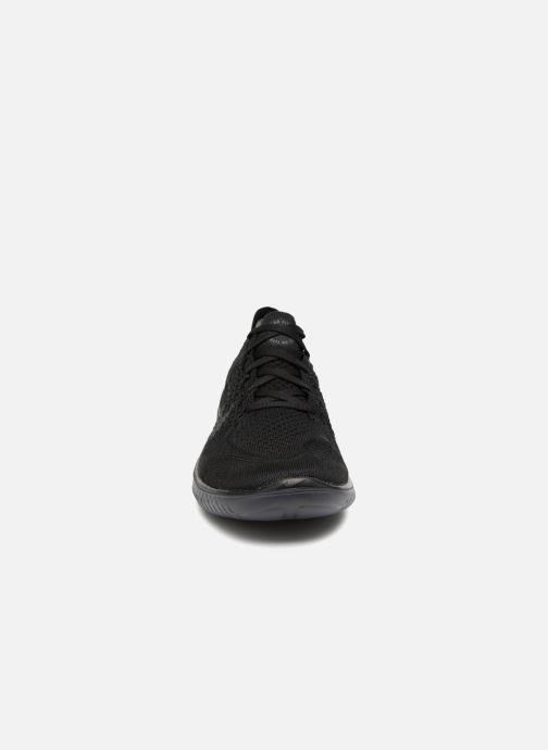Sportschuhe Nike Nike Free Rn Flyknit 2018 schwarz schuhe getragen