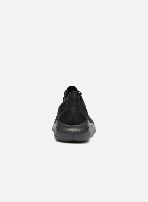 Sportschuhe Nike Nike Free Rn Flyknit 2018 schwarz ansicht von rechts