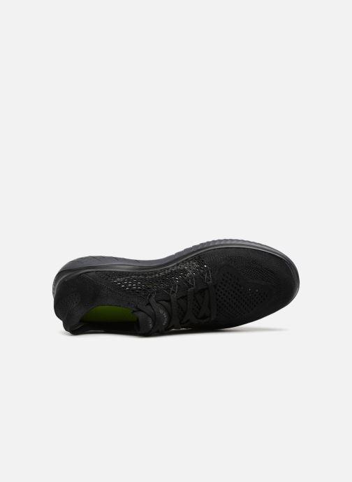 Sportschuhe Nike Nike Free Rn Flyknit 2018 schwarz ansicht von links