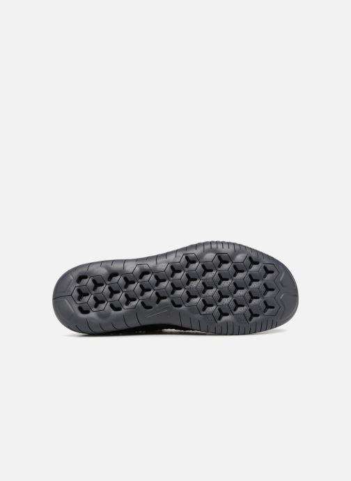 Sportschuhe Nike Nike Free Rn Flyknit 2018 schwarz ansicht von oben
