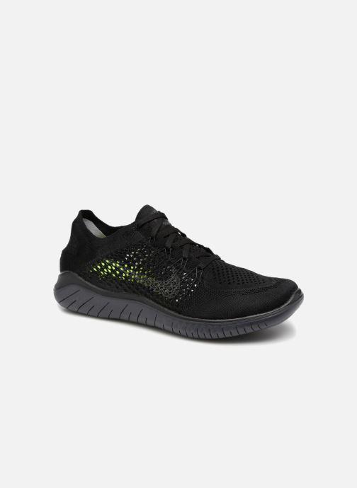 Sportschuhe Nike Nike Free Rn Flyknit 2018 schwarz detaillierte ansicht/modell