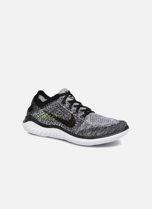 the latest 5d577 90099 Chaussures de sport Nike Nike Free Rn Flyknit 2018 Gris vue détail/paire