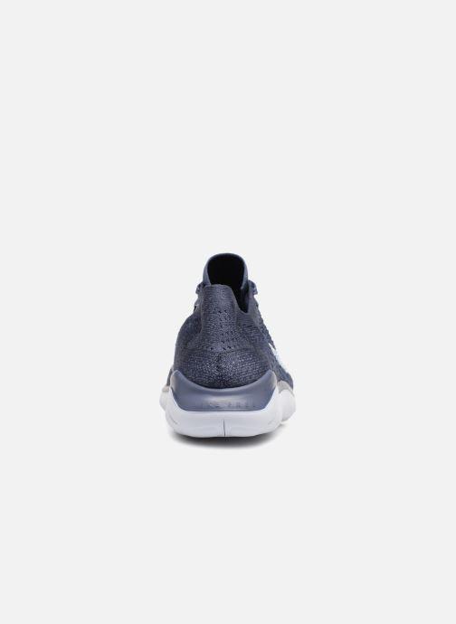 Sportskor Nike Nike Free Rn Flyknit 2018 Blå Bild från höger sidan