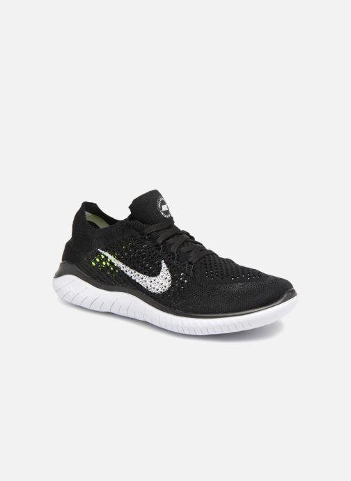 classic fit 75d61 4e123 Chaussures de sport Nike Wmns Nike Free Rn Flyknit 2018 Noir vue  détail paire