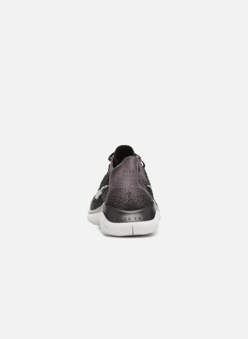 Sport shoes Nike Wmns Nike Free Rn Flyknit 2018 Black view from the right