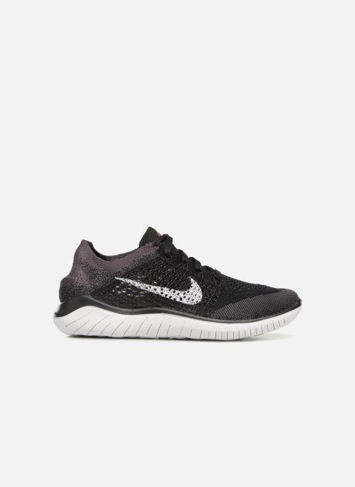 Sport shoes Nike Wmns Nike Free Rn Flyknit 2018 Black back view