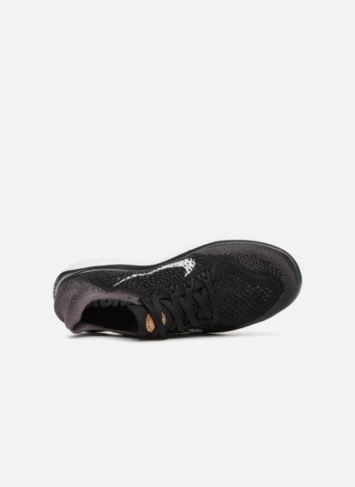Sport shoes Nike Wmns Nike Free Rn Flyknit 2018 Black view from the left
