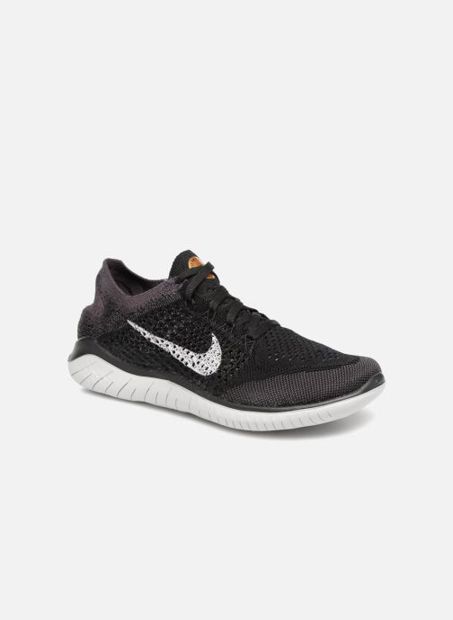 Sport shoes Nike Wmns Nike Free Rn Flyknit 2018 Black detailed view/ Pair view