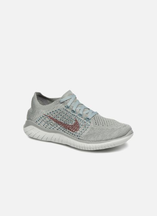 052b79a4598 Nike Wmns Nike Free Rn Flyknit 2018 (Grijs) - Sportschoenen chez Sarenza  (347065)