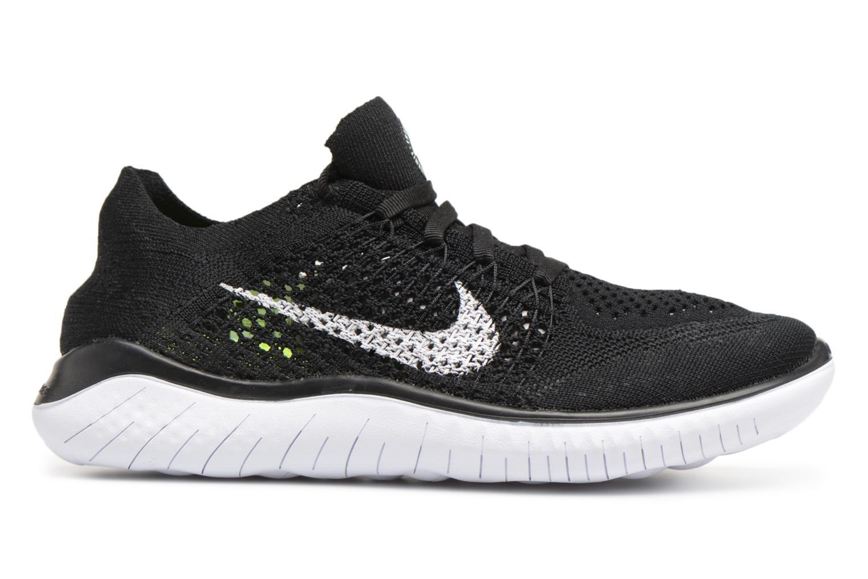 Chaussures de sport Nike Wmns Nike Free Rn Flyknit 2018 Noir vue derrière