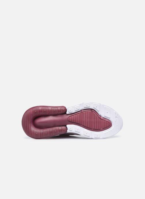 Sneaker Nike W Air Max 270 rosa ansicht von oben