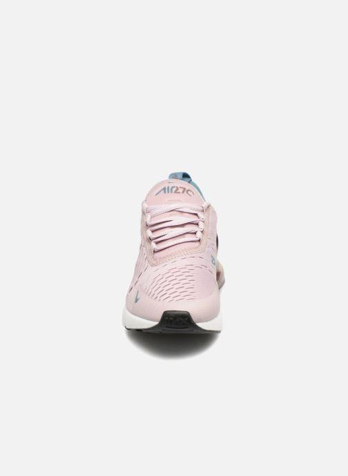 Baskets Nike W Air Max 270 Rose vue portées chaussures