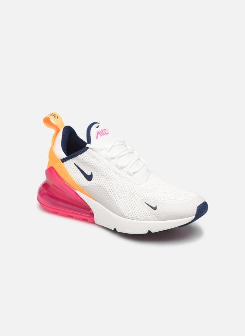 Baskets Nike W Air Max 270 Blanc vue détail/paire