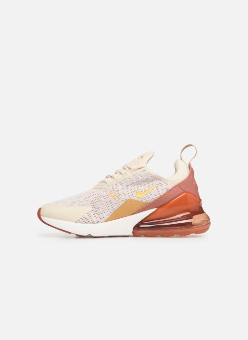 Baskets Nike W Air Max 270 Beige vue face