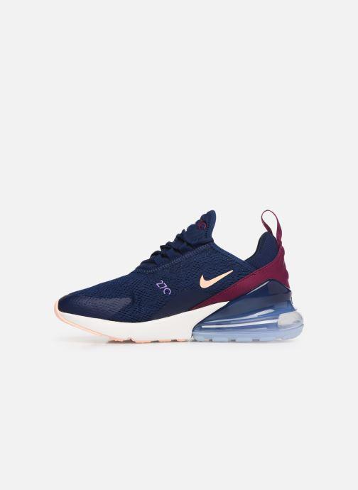 Sneaker Nike W Air Max 270 blau ansicht von vorne