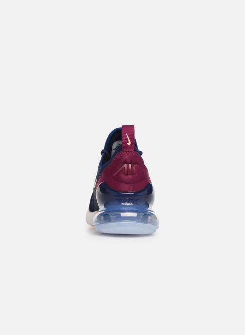 Baskets Nike W Air Max 270 Bleu vue droite