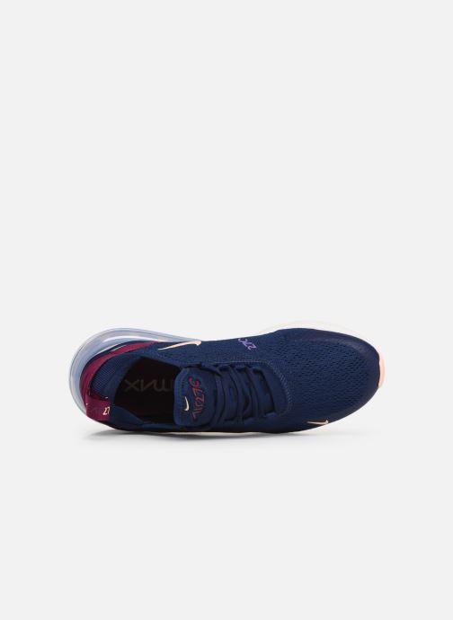 Baskets Nike W Air Max 270 Bleu vue gauche