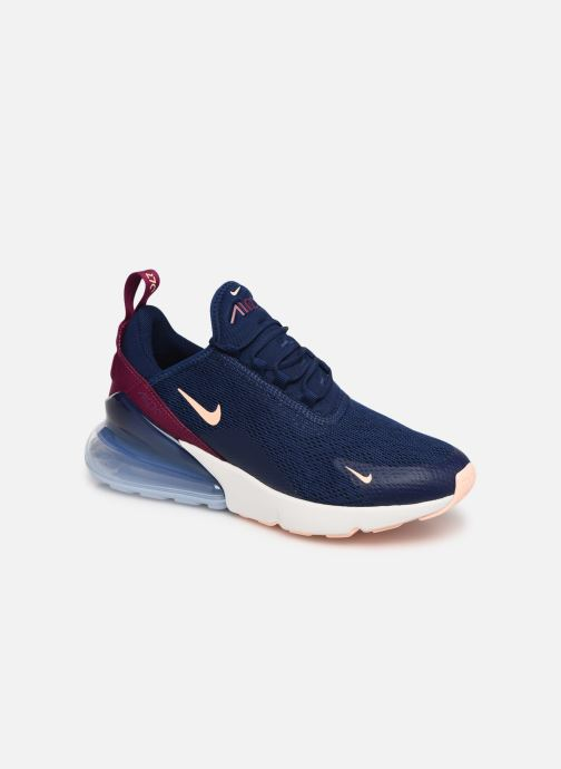 Trainers Nike W Air Max 270 Blue detailed view/ Pair view