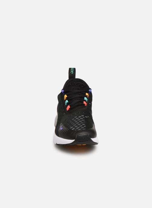 Sneaker Nike W Air Max 270 schwarz schuhe getragen