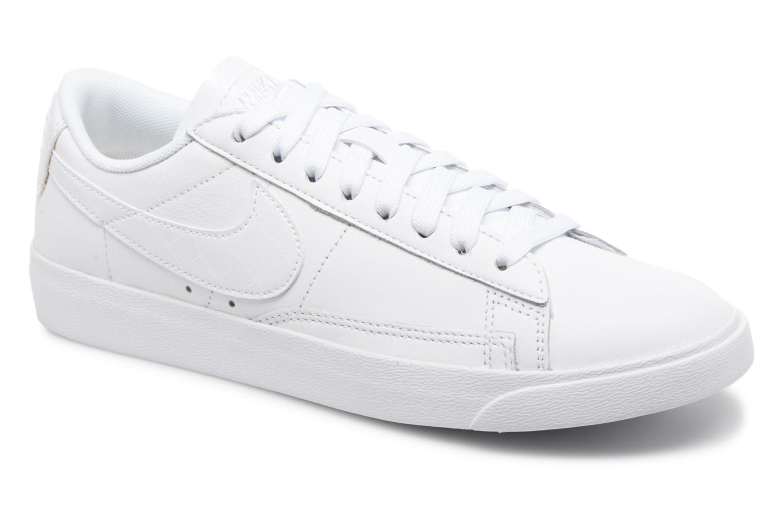 Nike W Blazer Low Ess (Blanc) - Baskets en Más cómodo Remise de marque
