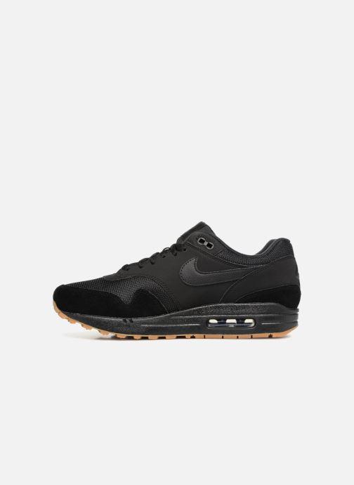 Sneaker Nike Nike Air Max 1 schwarz ansicht von vorne
