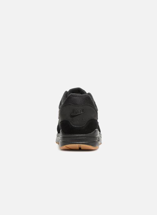 Sneaker Nike Nike Air Max 1 schwarz ansicht von rechts