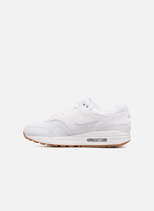 Sneaker Nike Nike Air Max 1 weiß ansicht von vorne