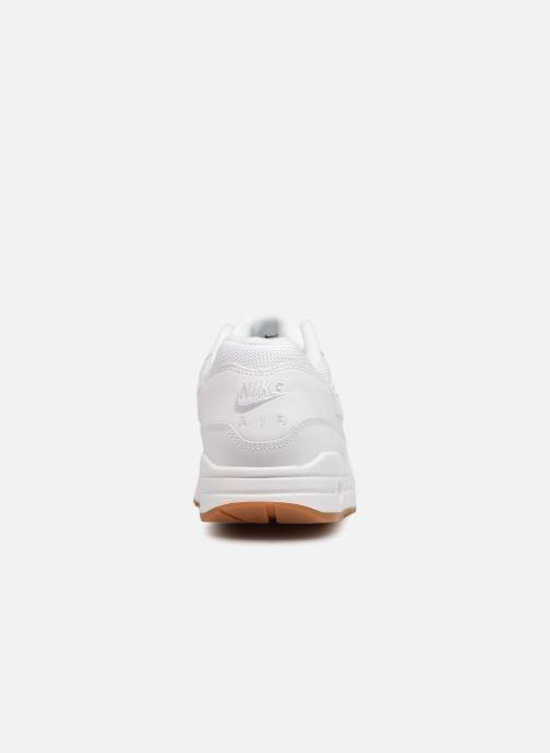 Sneaker Nike Nike Air Max 1 weiß ansicht von rechts