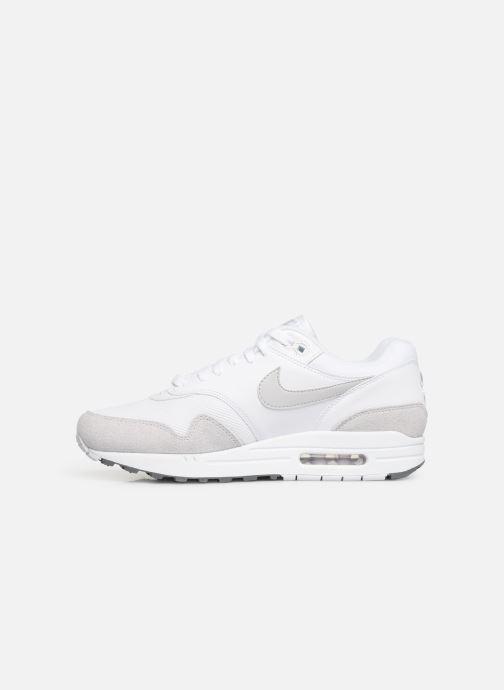 Deportivas Nike Nike Air Max 1 Blanco vista de frente