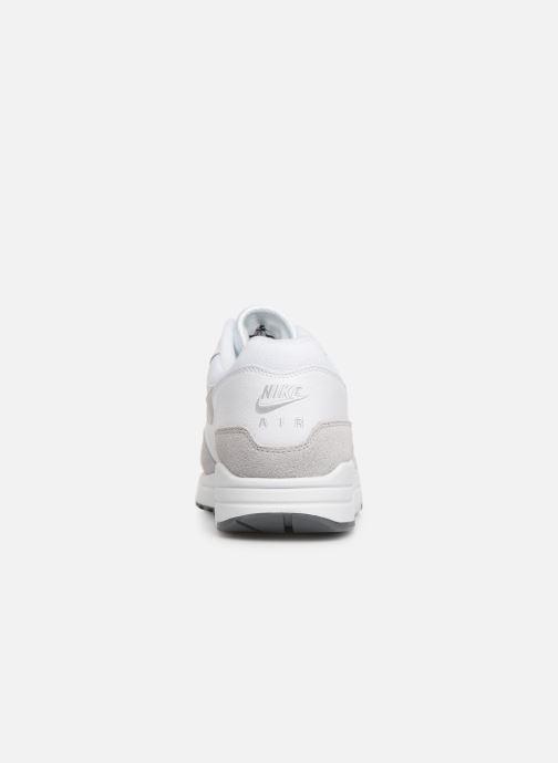 Deportivas Nike Nike Air Max 1 Blanco vista lateral derecha