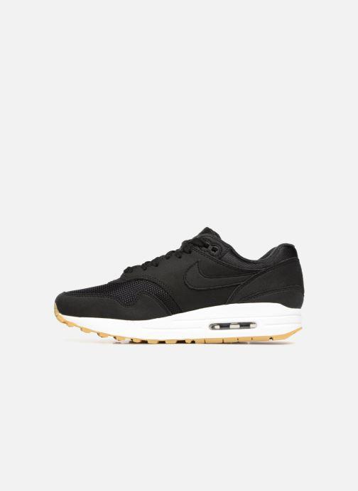 Sneakers Nike Wmns Air Max 1 Zwart voorkant