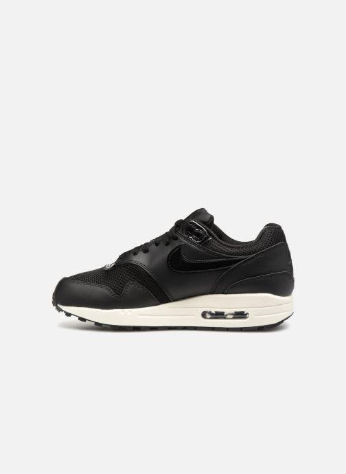 Sneakers Nike Womens Air Max 1 Zwart voorkant
