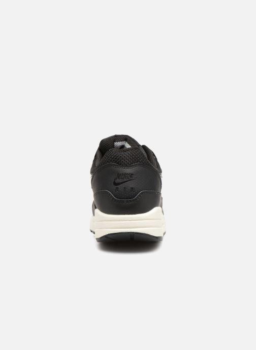 Sneakers Nike Womens Air Max 1 Zwart rechts