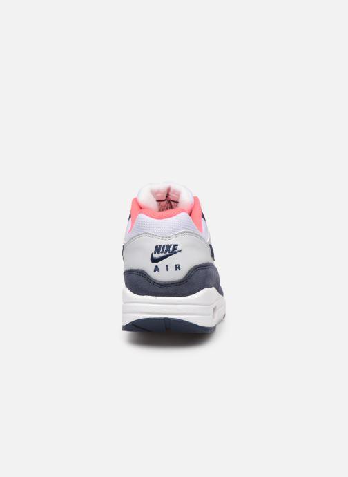Baskets Nike Womens Air Max 1 Blanc vue droite