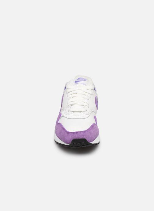 Deportivas Nike Womens Air Max 1 Blanco vista del modelo