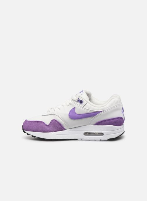 Baskets Nike Womens Air Max 1 Blanc vue face