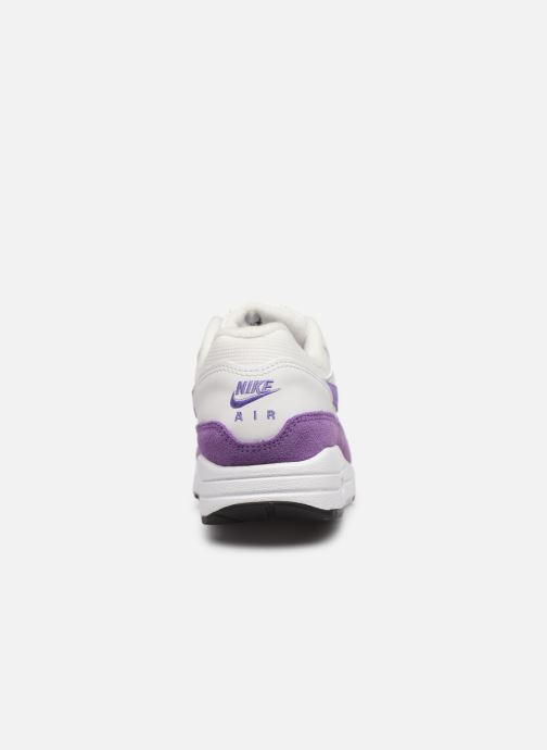 Baskets Nike Womens Air Max 1 Blanc vue droite