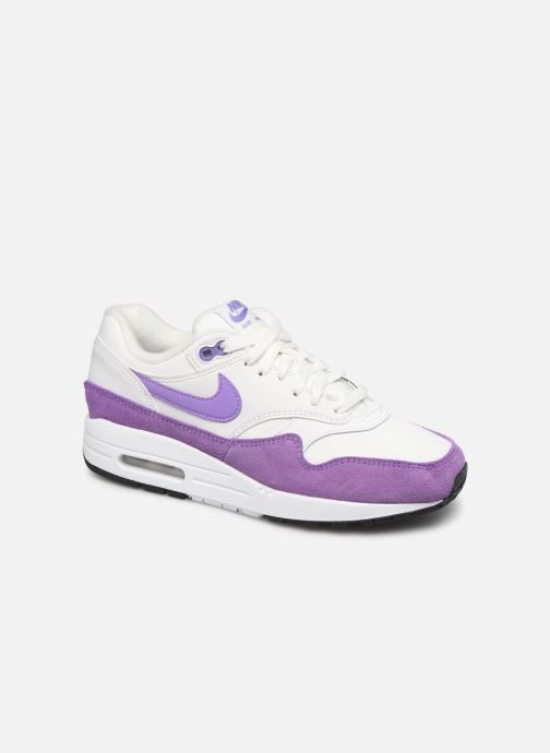 Baskets Nike Womens Air Max 1 Blanc vue détail/paire