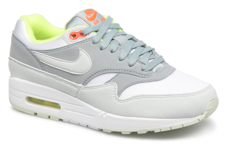 Nike Wmns Air Max 1 (Blanc) - Baskets en Más cómodo Nouvelles chaussures pour hommes et femmes, remise limitée dans le temps
