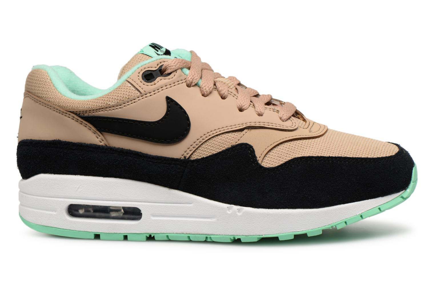 1 Nike black white green Desert Air Max Glow Wmns dCxBeo