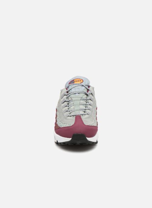 Sneakers Nike Wmns Air Max 95 Prm Bordò modello indossato