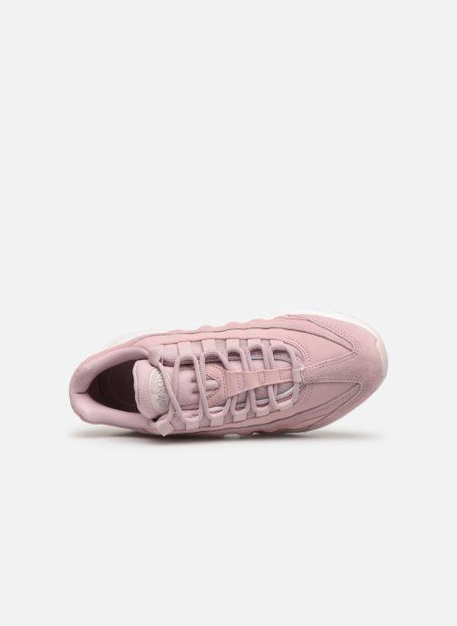 Baskets Nike Wmns Air Max 95 Prm Rose vue gauche
