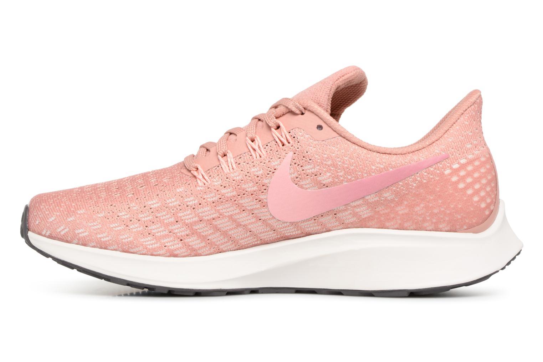 Sportschuhe Nike Wmns Nike Air Zoom Pegasus 35 rosa ansicht von vorne