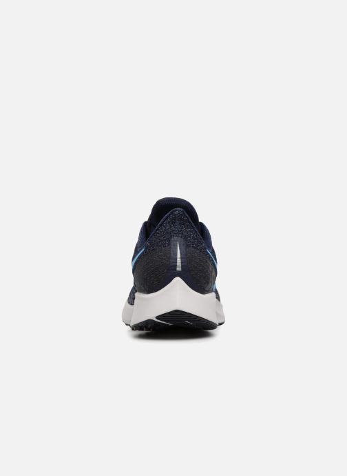 Sportschuhe Nike Nike Air Zoom Pegasus 35 blau ansicht von rechts