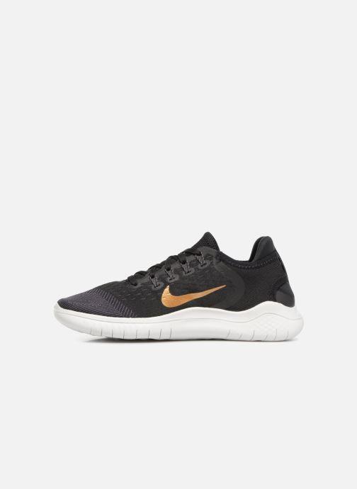 Sportschuhe Nike Wmns Nike Free Rn 2018 schwarz ansicht von vorne