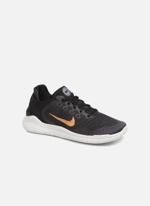 Sportschuhe Nike Wmns Nike Free Rn 2018 schwarz detaillierte ansicht/modell